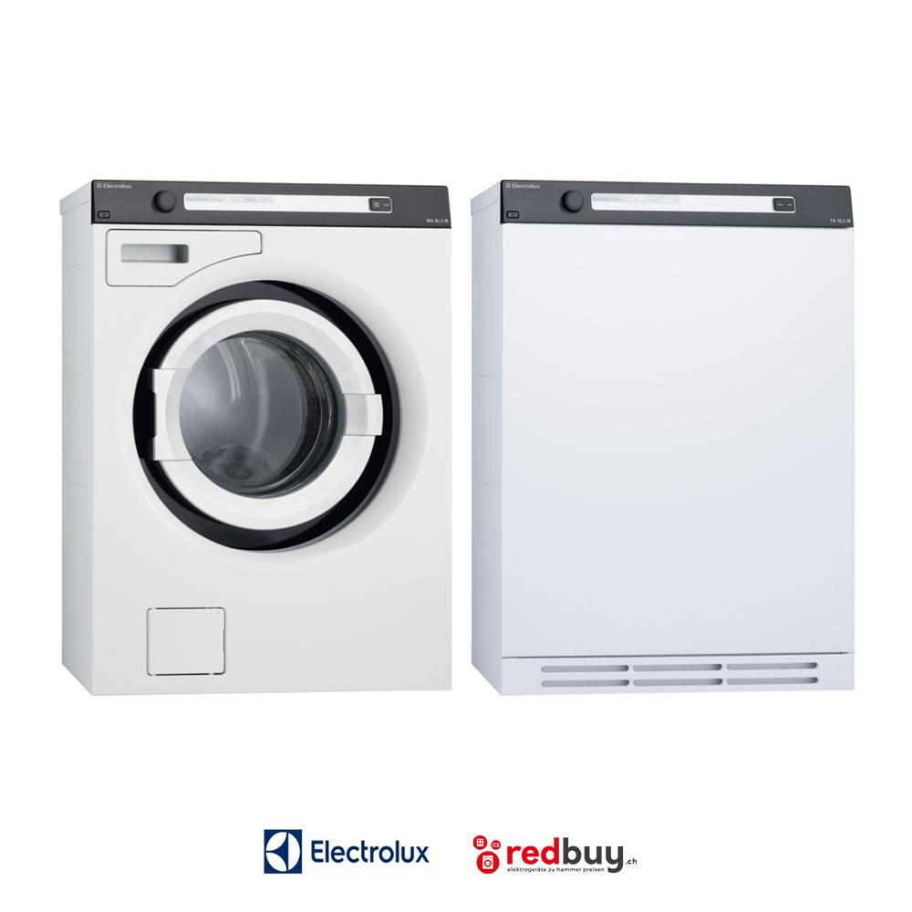 Electrolux WASL3M103 Waschmaschine und Electrolux TWSL3M101 Tumbler